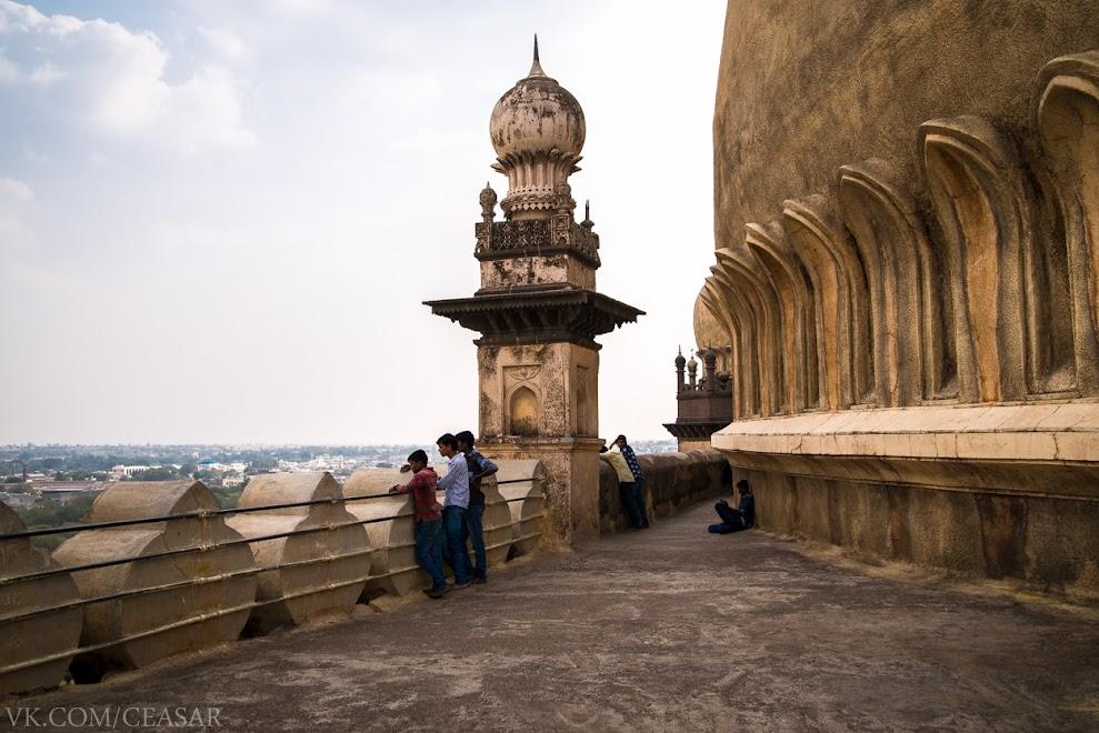 Смотровая площадка Гол Гумбаза, Биджапур