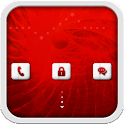 Red Glow for GO Locker icon