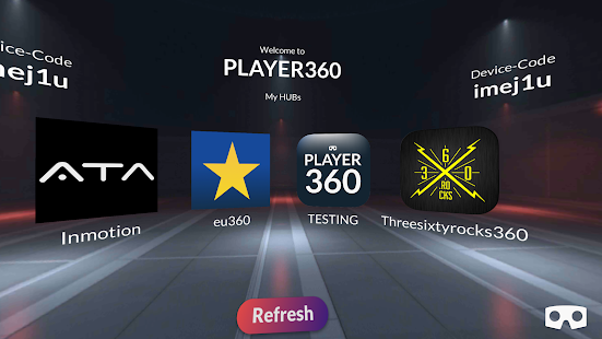 PLAYER360 - náhled