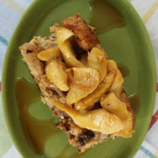 Apple Cinnamon Raisin French Toast Bake