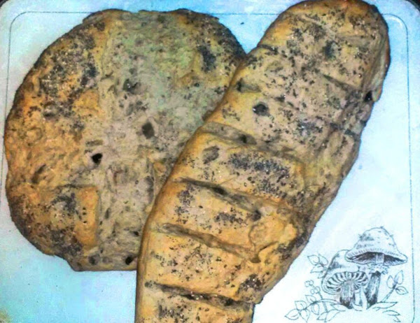 Rustic Aubergine Bread Recipe