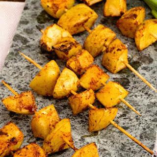 Barbecue Potato Kebabs