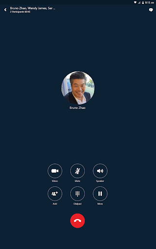 Skype for Business for Android 6.27.0.18 screenshots 7