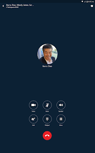 Skype for Business for Android- screenshot thumbnail