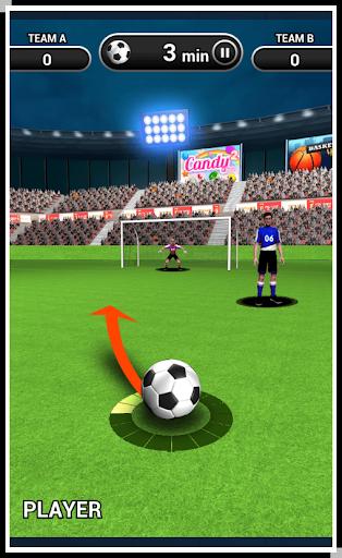 3D世界足球任意球