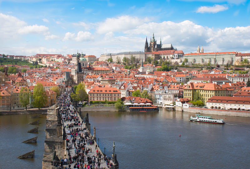 Praga in volo di francesko_pepe