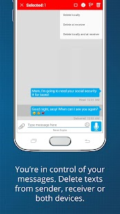 Sayfe Secure Private Messenger - náhled