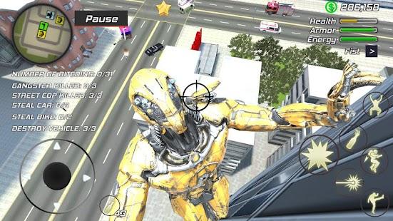 Super Crime Steel War Hero Iron Flying Mech Robot Screenshot