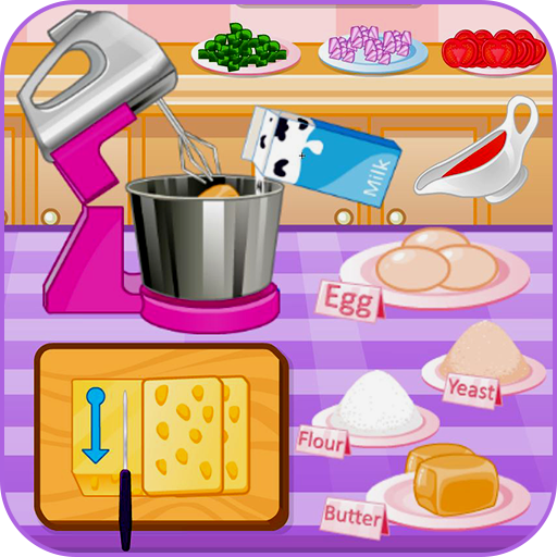 Mini pizza cooking games (game)