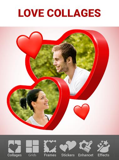 Love Collage Maker - Photo Editor & Heart Frames 2.4.8.3 Screenshots 1