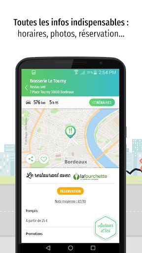 Mappy u2013 Plan, Comparateur du2019itinu00e9raires, GPS  screenshots 3