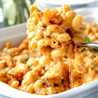 Lightened Up Buffalo Macaroni and Cheese