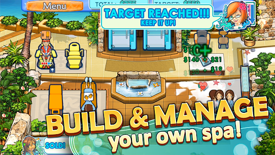 Sally's Spa Mod Apk – For Android 1