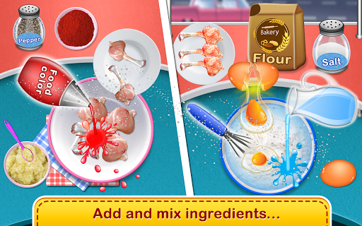 Chicken Lollipop-Cooking Maker  Street Food screenshot 2