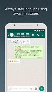 WhatsApp Business (WhatsApp para Negocios): miniatura de captura de pantalla