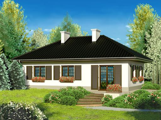 projekt Dom przy Topolowej