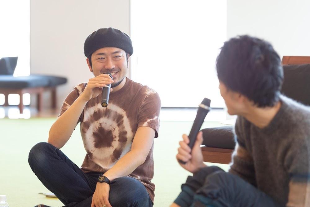 笑顔で語る中村氏