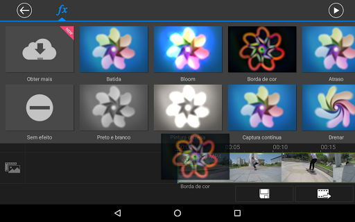 Apl editor vídeo PowerDirector screenshot 11