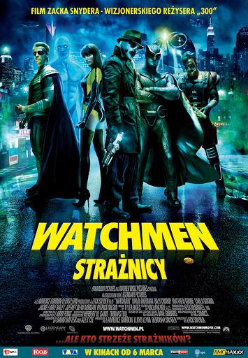 Polski plakat filmu 'Watchmen. Strażnicy'