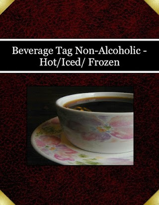 Beverage Tag  Non-Alcoholic -Hot/Iced/ Frozen