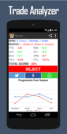 玩免費運動APP|下載Swish Fantasy Basketball app不用錢|硬是要APP