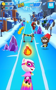 Talking Tom Hero Dash Mod Apk [Unlimited Money + Diamonds] 2.1.1.1235 8
