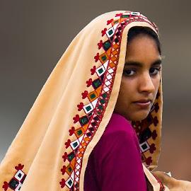by Mohsin Raza - People Portraits of Women