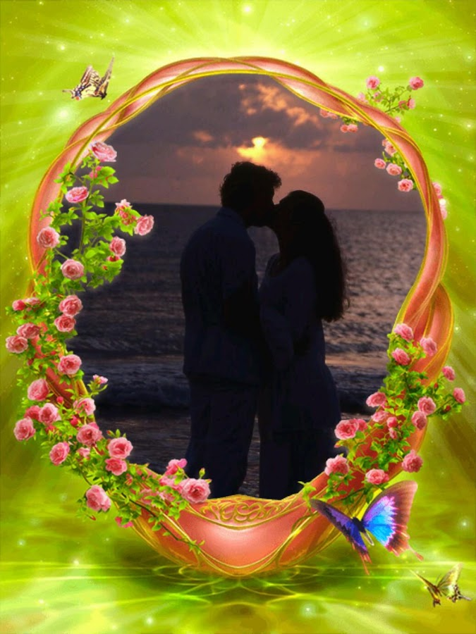 love romantic photo frames screenshot