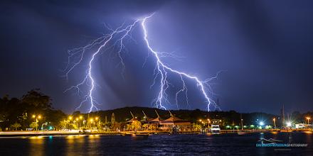 Photo: #centralcoast  #lightningbolt  #lightningphotography  #australia  #australianphotographers  #australianphotography