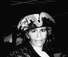 Photo: Karl Lagerfeld à son bal vénitien du Palace, 1978.