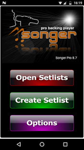 Songer Pro- screenshot thumbnail