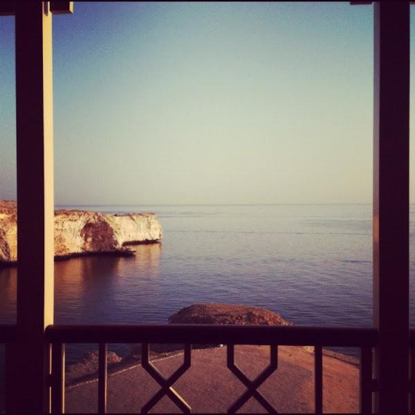 Photo: Room with a view at Shangri-La Al Husn