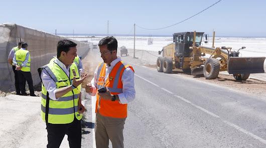 Más de 1.000.000 de euros en las obras de los caminos en la provincia