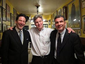 Photo: John Pizzarelli, Jim Wadsworth and Martin Pizzarelli  (photo:  Bruce Hennes)