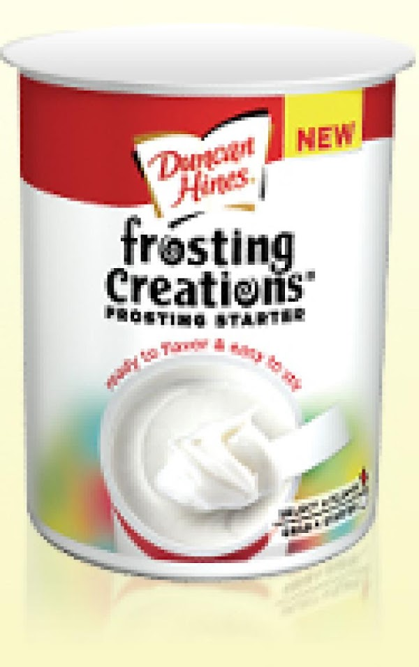 Frosting: Open container of frosting starter and make a well in the center with...