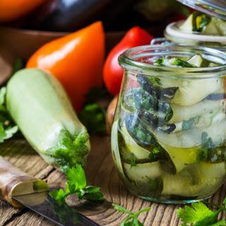 Zucchini Ribbon Pickles