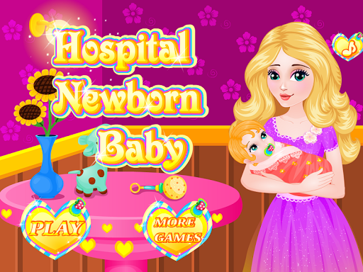 新生児のケアのゲーム