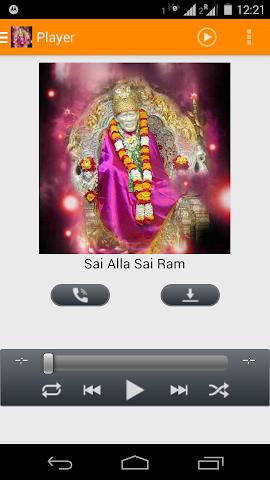 android Sai Baba Bhakti Songs New Screenshot 0