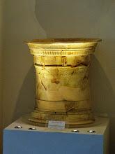 Photo: Terracotta altar from Morgantina .......... Terracotta altaar uit Morgantina