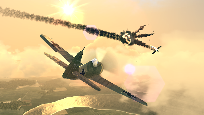 Warplanes: WW2 Dogfight Screenshot Image