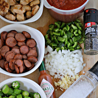 Easy Crock-Pot Sausage Gumbo