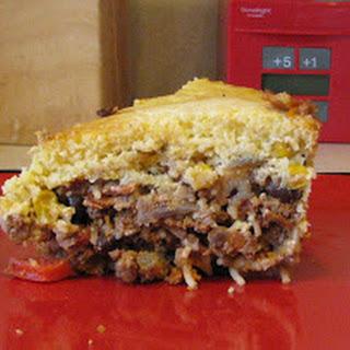 Cornbread Topped Hamburger Casserole