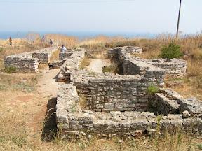 Мыс Калиакра. Руины древнего города