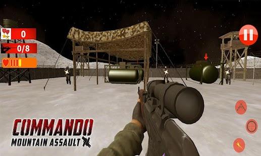 Commando Mountain Assault - náhled