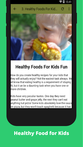 Healthy Food for Kids 1.0 screenshots 2