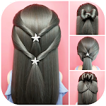 Hairstyles step by step for girls 1.7
