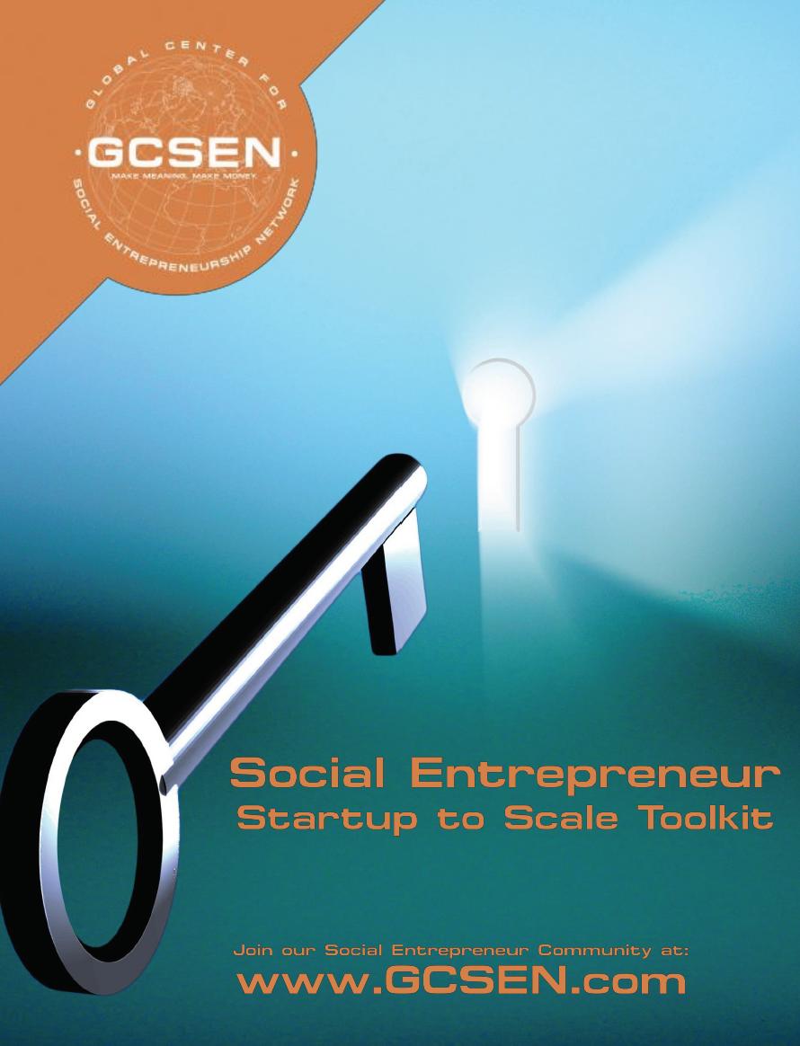 GCSEN Social Entrepreneur Toolkit