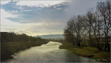 Photo: Turda - Str. Constructorilor - Pod peste Raul Aries, vedere de pe pod - 2019.03.29