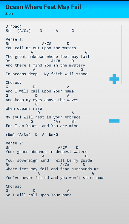 Hillsong Chords and Lyrics - Android Apps on Google Play