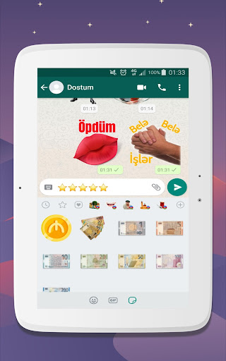 Azerbaijan Stickers for WhatsApp - WAStickerApps 12.2.06 screenshots 12